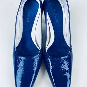 "Aerosoles-3""High Heels  Shoes-Blue-6M Leather"